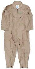 NOMEX USMilitary Flight Suit CWU 27P Flyers Tan Coveralls 52 R Regular Jumpsuit