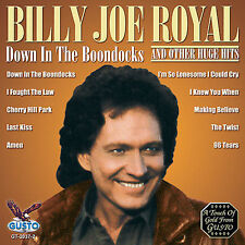 "BILLY JOE ROYAL, CD ""DOWN IN THE BOONDOCKS"" NEW SEALED"