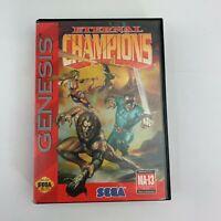 Eternal Champions (Sega Genesis, 1993) Tested Complete video game