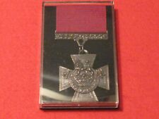 FULL SIZE VICTORIA CROSS MEDAL VC MUSEUM COPY MEDAL WITH RIBBON AND BOX