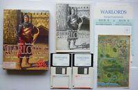 AMIGA Steve Fawkner WARLORDS Turn-based Fantasy Game Strategy Tactics - SSG 1990