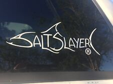 Salt Slayer decal