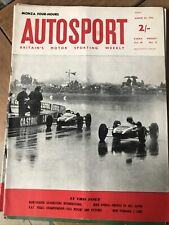 Autosport Magazine 26 March 1965 Silverstone 200 Cancelled Profile Mike Spence