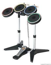 GENUINE Nintendo Wii-U ROCK BAND 2 3 Wireless Drum Set drums CYMBAL COMPATIBLE