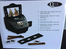 Brand New In Box QPix Digital PS970H 4 in 1 Photo Slide Negative Scanner