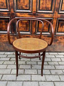 1/8 Thonet Nr. 209 Armlehnstuhl Wiener Geflecht Vintage Retro
