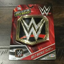 Jakks Pacific Plastic WWE World Heavyweight Championship Title Belt Buckle New