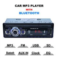 Plug-in Bluetooth Car Multimedia Radio Stereo Audio USB /SD /AUX /FM Hands-free