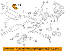 VOLVO OEM 2015 S60 2.0L-L4-Tail Pipe Extension 31392529