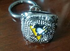 Pittsburgh Penguins Stanley Cup Ring Keychain 2017 STH