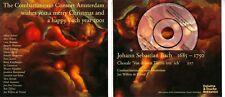 COMBATTIMENTO CONSORT AMSTERDAM Christmas 3 INCH PROMO CD BACH RARE