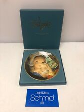 Juan Ferrandiz Schmid Collection Pastoral Mother and Child Collectors Plate