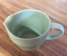 "Woods Ware Green 1/4 Pt Milk / Cream Jug Beryl. Many Available. 3"" 70mm"