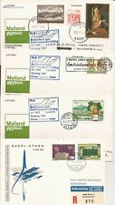 YUGOSLAVIA/HUNGARY/DENMARK/SWITZERLAND-4 first flights ( 1970/1973)