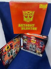 Transformers Universe Generation 1 G1 Series Autobot Blaster SDCC 2010 NISB