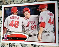 MIKE TROUT 2012 Topps 2nd Year Los Angeles Angels ROY MVP Torii Hunter Trumbo $$