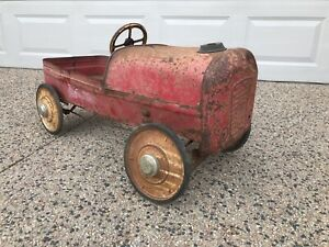 Pedal Car Vintage 1950s antique similar to Triang Cyclops tipper tray