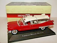ATLAS EDITIONS CADILLAC MILLER-METEOR AMBULANCE 1/43