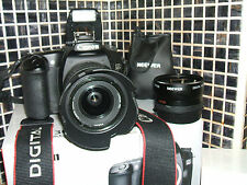 Canon EOS 30D 8.2 MP Digital SLR Camera - WITH THREE LENSES-PROFESSIONAL-USE