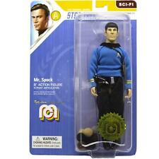 "Mr. Spock Blue Shirt and Tribbles - Mego 8"" Action Figure - Star Trek"