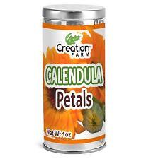 Calendula Flower Petals Dried Herb Tisane 1 oz - Bulk, Cleaned, Convenient Tea T