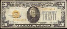 1928 $20 DOLLAR GOLD CERTIFICATE COIN NOTE CURRENCY OLD PAPER MONEY Fr 2402