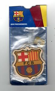 F.C.BARCELONA Pack of Air Fresheners Official Product FREE POST UK