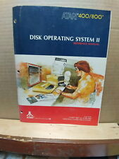 ATARI 400/800 COMPUTER DISK OPERATING SYSTEM II REFERENCE MANUAL