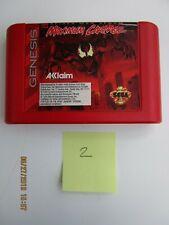 SPIDERMAN VS VENOM: MAXIMUM CARNAGE - SEGA GENESIS - RED CART ONLY!!