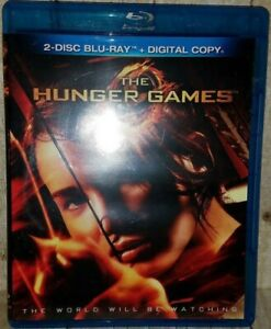 The Hunger Games (Blu-ray Disc, 2012, 2-Disc Set) TESTED VG