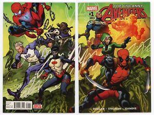 Uncanny Avengers #1 NM/MT 9.8 1st appearance Synapse & Shredded Man 2015 Marvel