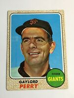 F59451  1968 Topps #85 Gaylord Perry GIANTS