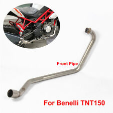 Motorcycle Autobike Exhaust System Front Header Link Pipe for Benelli TNT150