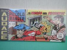 Collana AUDACE il Piccolo Ranger Striscia Fumetto  Anastatica  2°serie N 20 CU