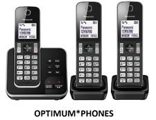 Panasonic KX-TGD623EB teléfono inalámbrico con Asa máquina y bloque de llamadas molestas