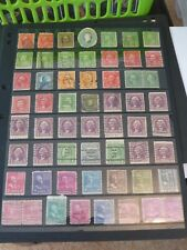 USA  58 x PRESIDENTS STAMPS  1890-1938  FINE USED   1460510