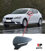 FOR SEAT LEON 2012 - 2018 NEW WING MIRROR COVER CAP PRIMED LEFT N/S 5F0857537B