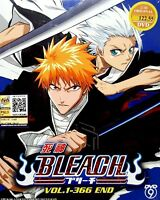 BLEACH - COMPLETE ANIME TV SERIES DVD BOX SET (1-366 EPIS) WITH ENGLISH SUBBED