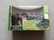 The Lord of the Rings Ringwraith and Horse/ et Cheval Deluxe Horse and Rider Set