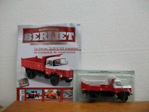 Collection Camions Berliet N°89: Berliet GLR 8 M3 Benne entrepreneur + revue