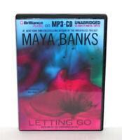 AUDIOBOOK MP3-CD Maya Banks Fiction Novel Surrender Trilogy Letting go sealed