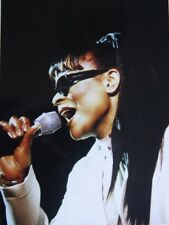 Photo of Gabrielle in concert original mounted 10.7 x 8 inches by Mel Longhurst