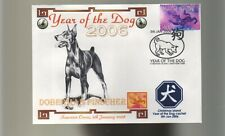DOBERMAN PINSCHER 2006 YEAR OF THE DOG SOUV COVER 1