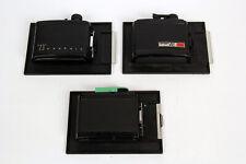 3X Graflex 4X5 Roll Film Back for 120, 6x6, 6x7, 6x9