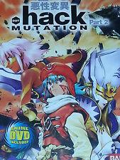 Dot Hack Mutation Part 2 with Bonus DVD BanDai PS2  NTSC US/C