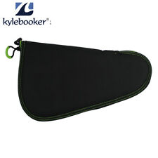 """Pistol Soft Padded Rug Case Hand Gun Storage with Zippered Pouch Bag Pocket 10"""""""