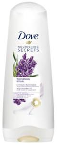 3 x Dove Nourishing Secrets Thickening Ritual Hair Conditioner Lavender 350ml
