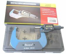 "Dasqua 75-100 mm / 3-4"" Digital Micrometer (Ref: 42102120) From Chronos"