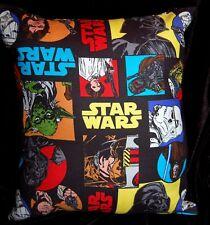New Handmade Star Wars Original Cast Boba Fett Obi Chewbacca Darth Yoda Pillow