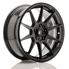 Un Cerchio in Lega Japan Racing JR11 17x7.25 ET35 5x112/114.3 Nero